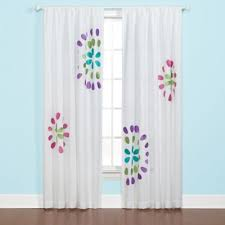 White And Purple Curtains Buy Window Curtains Kids From Bed Bath U0026 Beyond