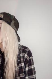 grunge flannel blonde hairstyles colors pinterest