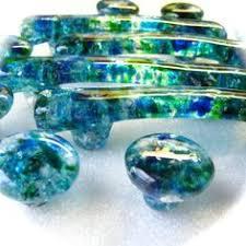 colored glass cabinet knobs aqua blue glass bubble cabinet knobs dresser drawer pulls coastal