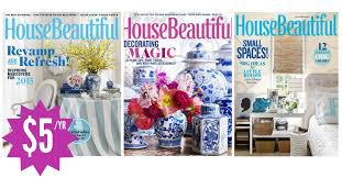 house beautiful subscriptions house beautiful magazine subscription for 5 saving with shellie