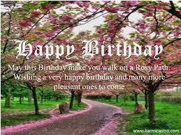 birthday wish tree happy birthday wish for a rosy path free happy birthday ecards