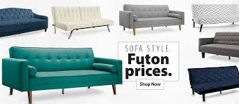 furniture decorate your space with classic great futon living