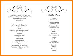 wedding booklet templates event program template word booklet wedding templates word1 1