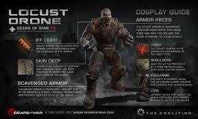 gears war cosplay guides gears war official