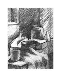 pictures images of landscapes and still life of pencil shading