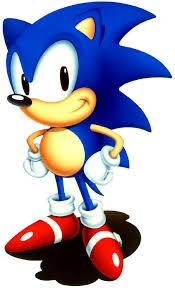 sonic hedgehog kids colouring pictures print colour clip