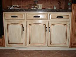 rustic white kitchen cabinets ideas for create distressed kitchen cabinets cole papers design