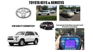 toyota car and remotes toyota car remotes licensed alabama locksmith