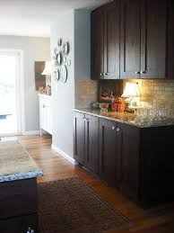 dark cabinets light colored island nest pinterest cabinet