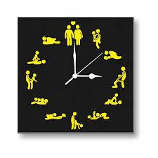 anniversary clock gifts canvas wall clock