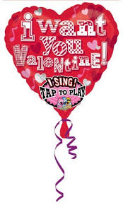 singing balloons delivery 29 74 cm singing balloon i want you buy helium