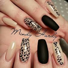 Nail Designs Cheetah Lovely Nail Designs Photo Nailed It Casket Nails
