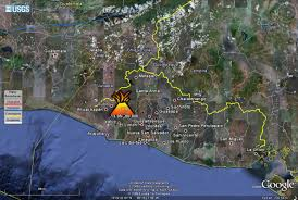 Mexico Volcano Map by Worldvolcanoes Cocos Plate 4