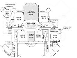 Architecture Floor Plan by Balmoral Castle Plans Luxury Home Plans
