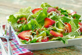 Garden Salad Ideas Strawberry Romaine Salad Briannas Salad Dressings