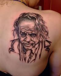 joker tattoos evil joker tattoos joker tattoos