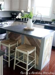 chic on a shoestring decorating makeover madness painted kitchen