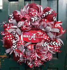 25 unique alabama wreaths ideas on alabama football