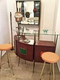 mid century italian bar cabinet u0026 2 stools for sale at pamono