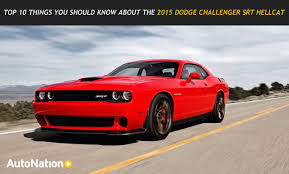 10 dodge challenger top 10 things you should about the dodge challenger srt