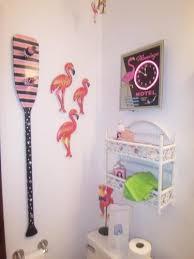 Flamingo Bathroom Lake Geneva Wisconsin Vacation Rental Home Room Description