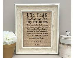 one year anniversary gift for one year anniversary etsy