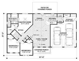 3 bed 2 bath house plans craftsman style house plan 3 beds 2 baths 1399 sq ft plan 56