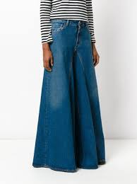 Flared High Waisted Jeans Mm6 Maison Margiela Flared High Waist Jeans 475 Buy Aw17 Online