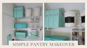 baking supply organization home organization simple pantry organization ideas youtube