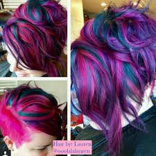 amazing hair by lauren chabira ooolalalauren mermaid hair pink