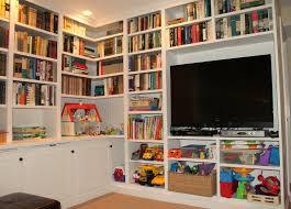 houseography built in bookshelves reveal