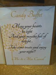 Wedding Buffet Signs by 11 Best Georgia U0027s Lolly Buffet Images On Pinterest Gold Candy
