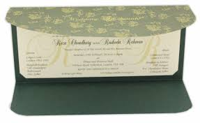 wedding invitations edmonton forest green wedding invitation with golden floral pattern