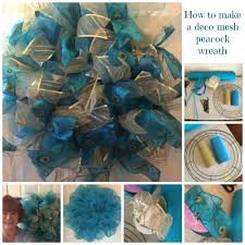 peacock ribbon how to make a peacock wreath with removable ribbon clusters