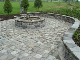 Firepit Pavers Outdoor Pit Made From Keystone Country Manor Units