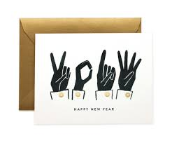 new years card 14 cards to wish someone a happy new year rifle paper creative