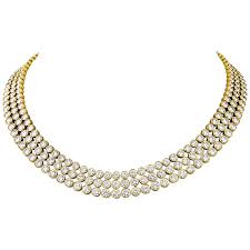 Two Peas In A Pod Jewelry Harry Winston Two Peas In A Pod Gold Platinum Necklace For Sale At