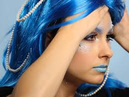 mermaid makeup with pearls images