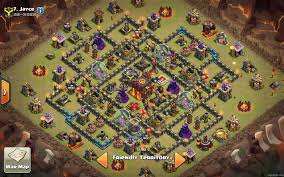 Clash Of Clans Maps Town Hall 10 War Bases Learn Coc Guide Here