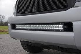 rough country light bar mounts rough country 30 inch led hidden bumper mounts 70542 49 95