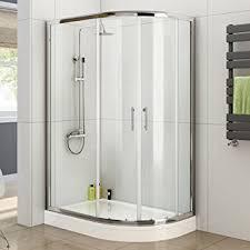 800 Shower Door Ibathuk 1000 X 800 Right Quadrant 6mm Sliding Glass Shower