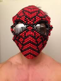 bead masks 1up mask by killergummibear on kandi patterns kandi
