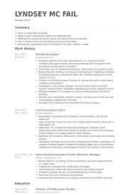 Employee Engagement Resume Marketing Analyst Resume Examples Essaymafia Com