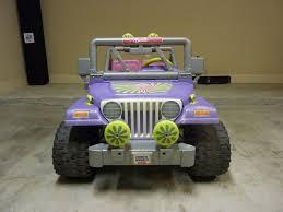 jeep barbie modified power wheels conversion barbie jeep to rock crawler jr