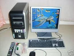 ordinateur de bureau packard bell troc echange pc bureau packard bell imedia 9670 ecran 17 e sur