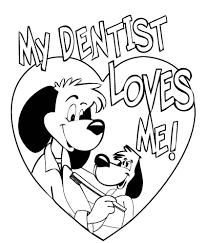dental health coloring pages family coloring pages people and jobs