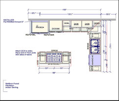 kitchen layout floor plan free kitchen design software online