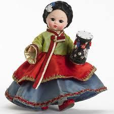 madame s korea doll korean hanbok doll drum