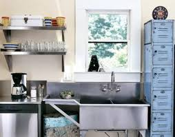 Reuse Kitchen Stainless Restaurant Sink And Counter Old Lockers - Restaurant kitchen sinks