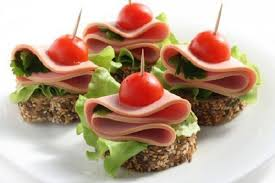 canapes ideas ideas for canapés the original decoration of dishes recipes
